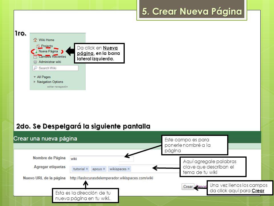 Opciones de forma y color de letra Viñetas y Lineas Colocar Ligas Subir Archivos Insertar Tablas de Excel PrevisualizarGuardar cambios 3ro.