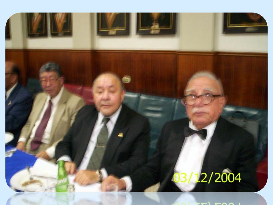 CLUB DE LA UNIÓN – LIMA REFRIGERIO TENIDA EN CADENA RR:. LL:. SS:. PARTHENON N° 4 y LEALTAD Y SUPERACIÓN N° 72 24 DE FEBRERO DE 1978 E:.V:.