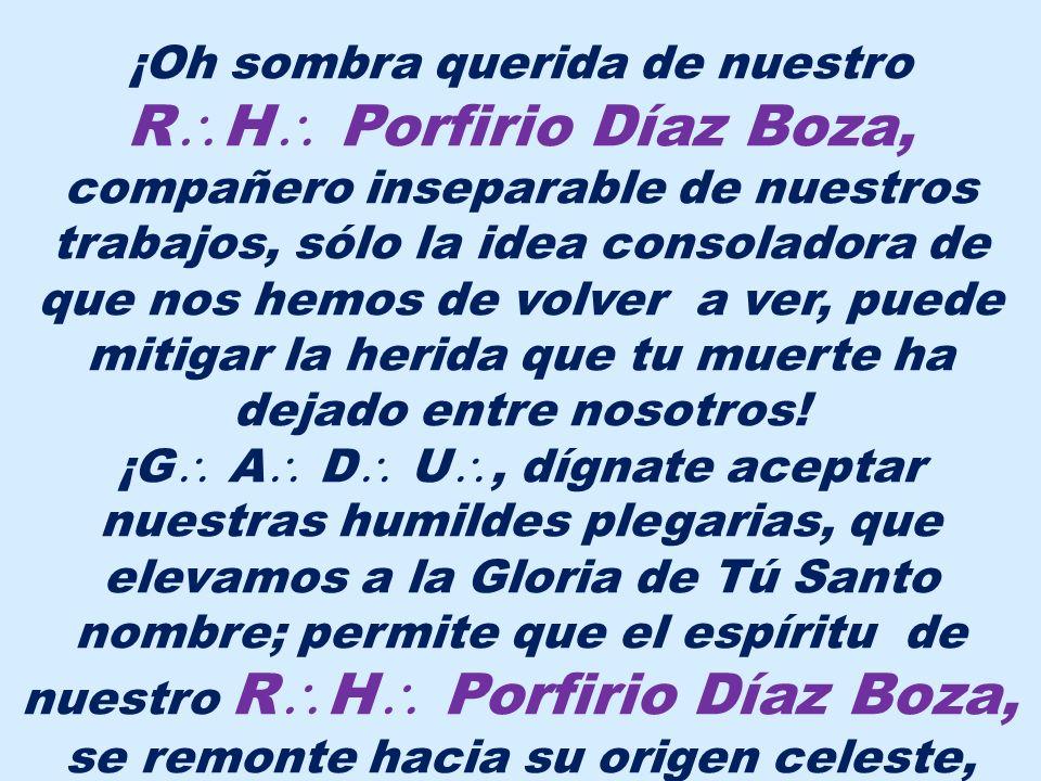 El R H PORFIRIO BALTAZAR DÍAZ BOZA nació el 22 de diciembre de 1920, en la ciudad de Trujillo, Departamento de La Libertad; sus padres fueron Baltazar