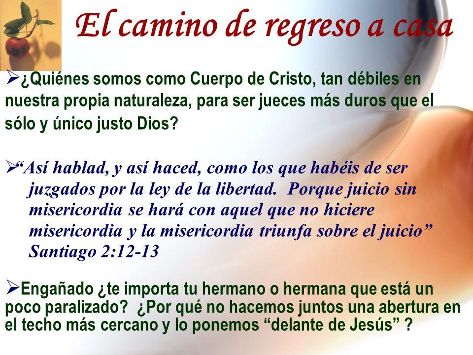 ¿Quiénes somos como Cuerpo de Cristo, tan débiles en nuestra propia naturaleza, para ser jueces más duros que el sólo y único justo Dios? Así hablad,
