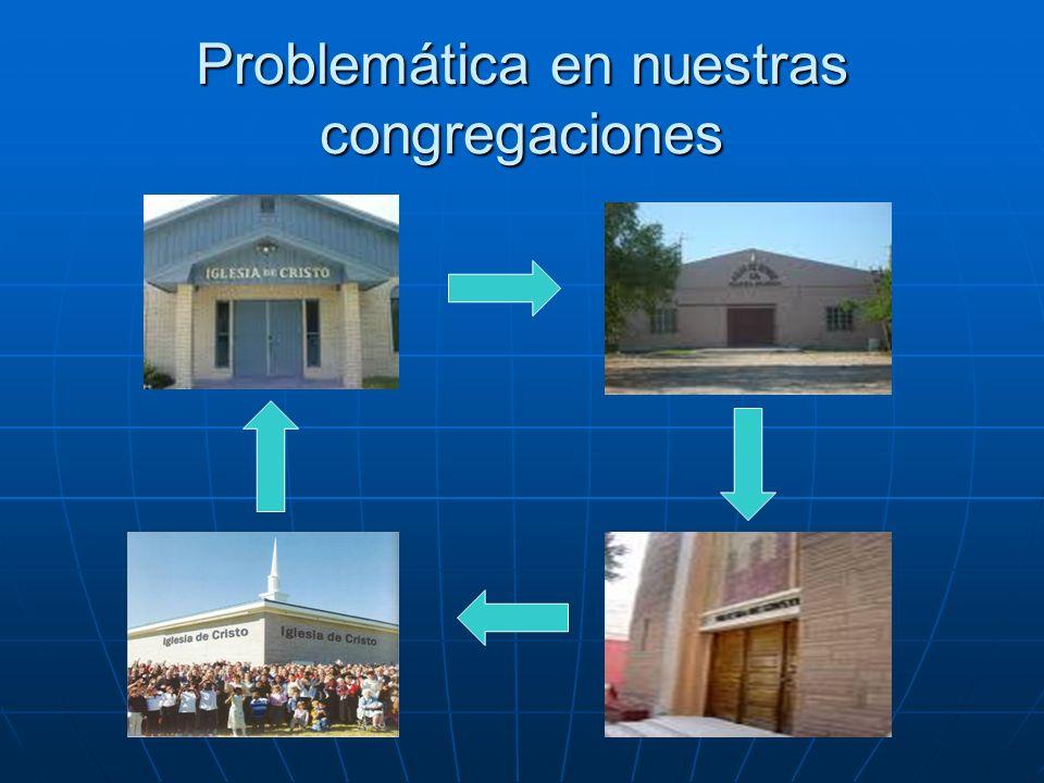 Problemática en nuestras congregaciones