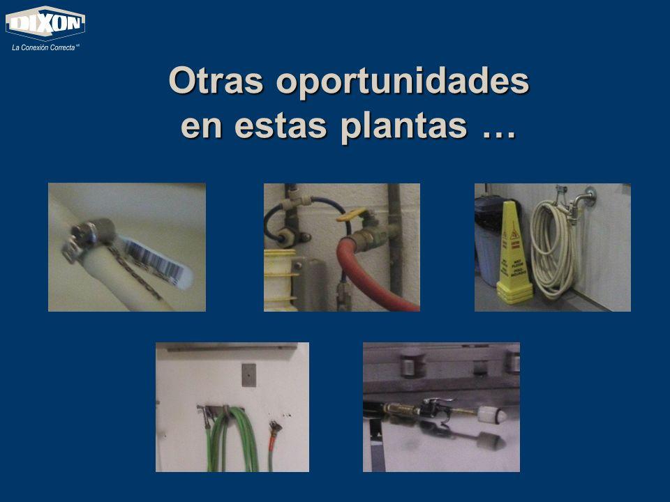 Otras oportunidades en estas plantas …