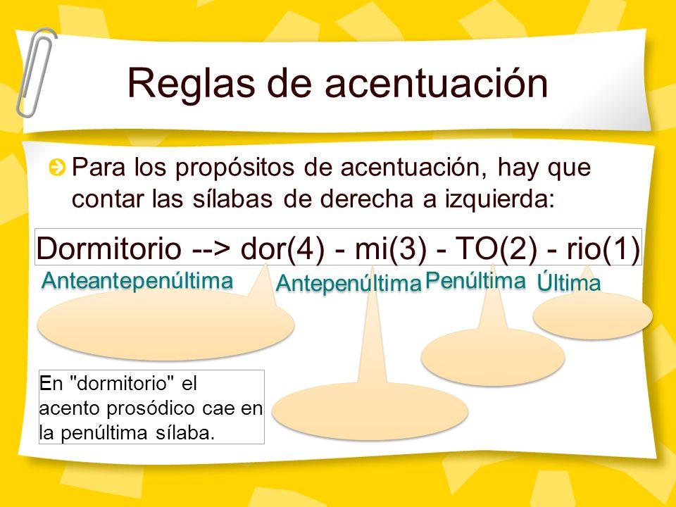 Vamos a practicar José Jo(2) SÉ(1) Mariana Ma(3) RIA(2) na(1) Josefina Jo(1) se(3) FI(2) na(1) En José el acento prosódico cae en la última sílaba.