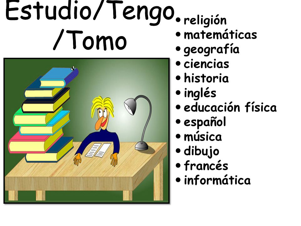 religión matemáticas geografía ciencias historia inglés educación física español música dibujo francés informática