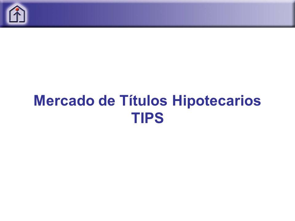 Mercado de Títulos Hipotecarios TIPS
