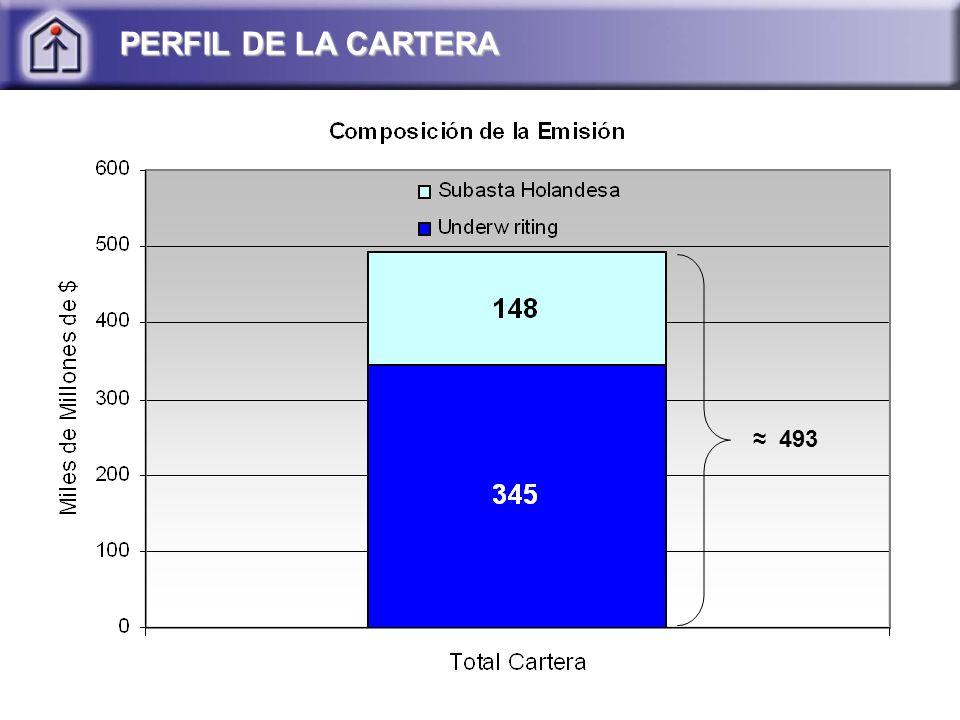 PERFIL DE LA CARTERA 493