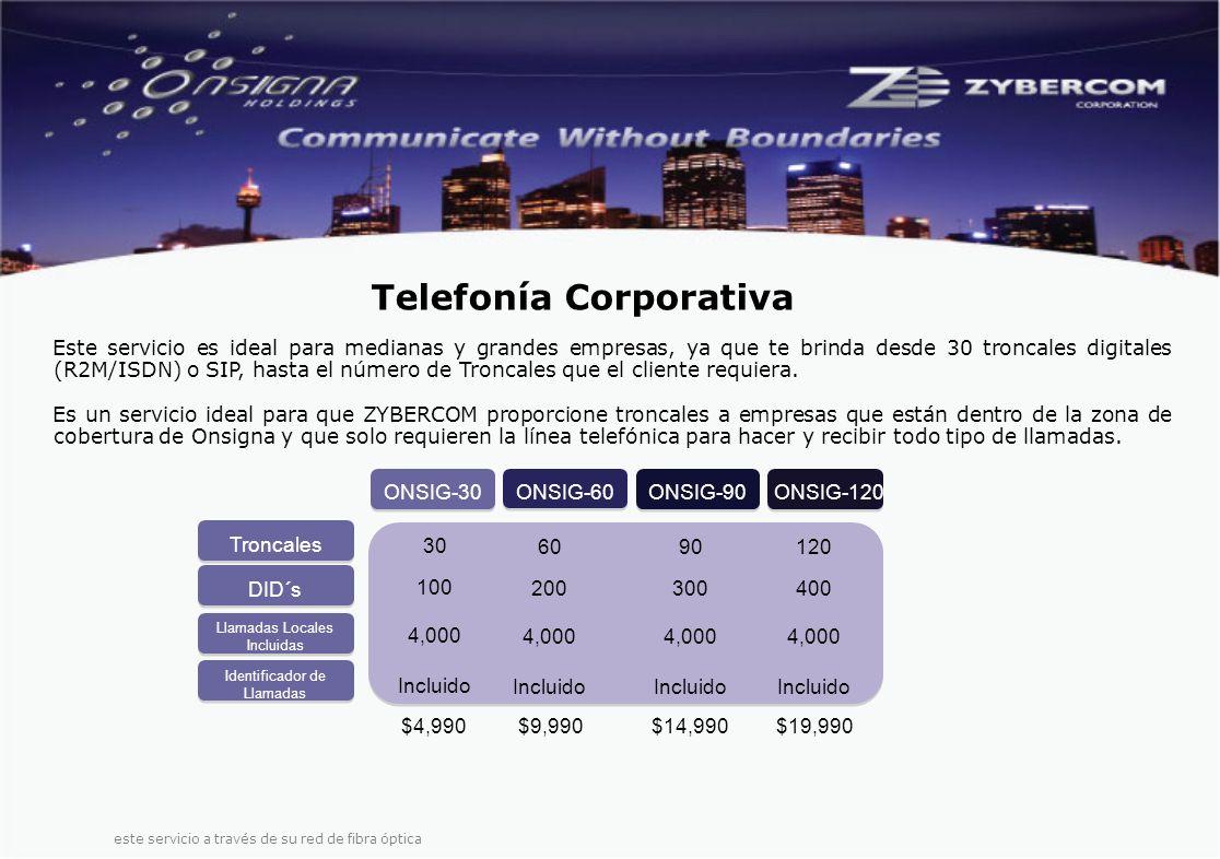 Este servicio es ideal para medianas y grandes empresas, ya que te brinda desde 30 troncales digitales (R2M/ISDN) o SIP, hasta el número de Troncales que el cliente requiera.