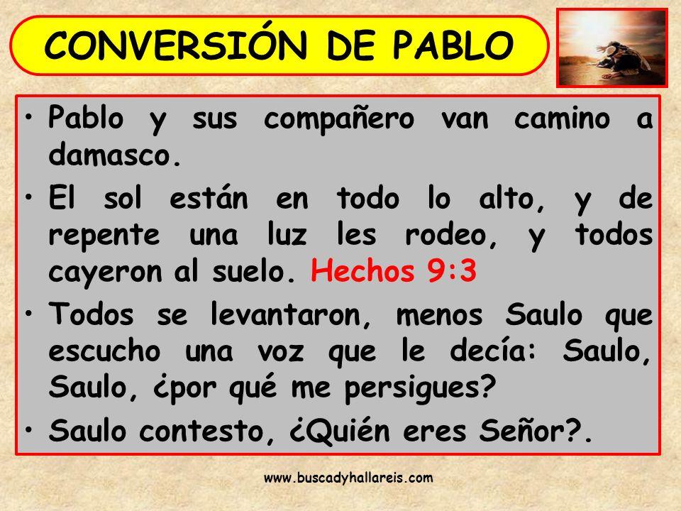APLICACIONES DE LA VIDA DE PABLO ¿Tienes el mismo celo de Pablo cuando persigues aquello que crees?.