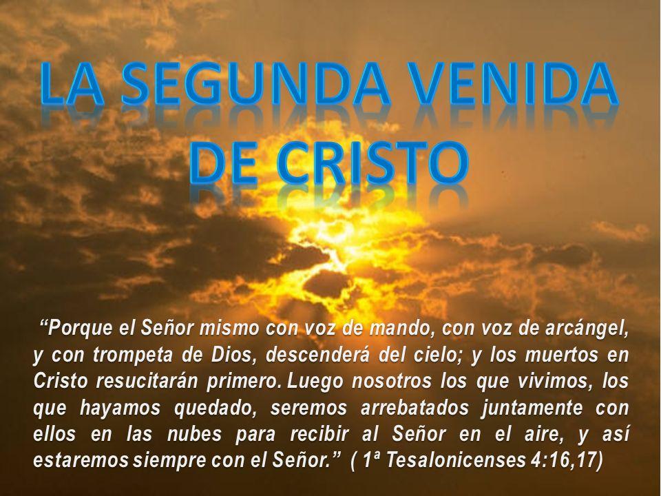 La Segunda Venida de Cristo, encierra dos vertientes importantes: Esperanza, y Terror.