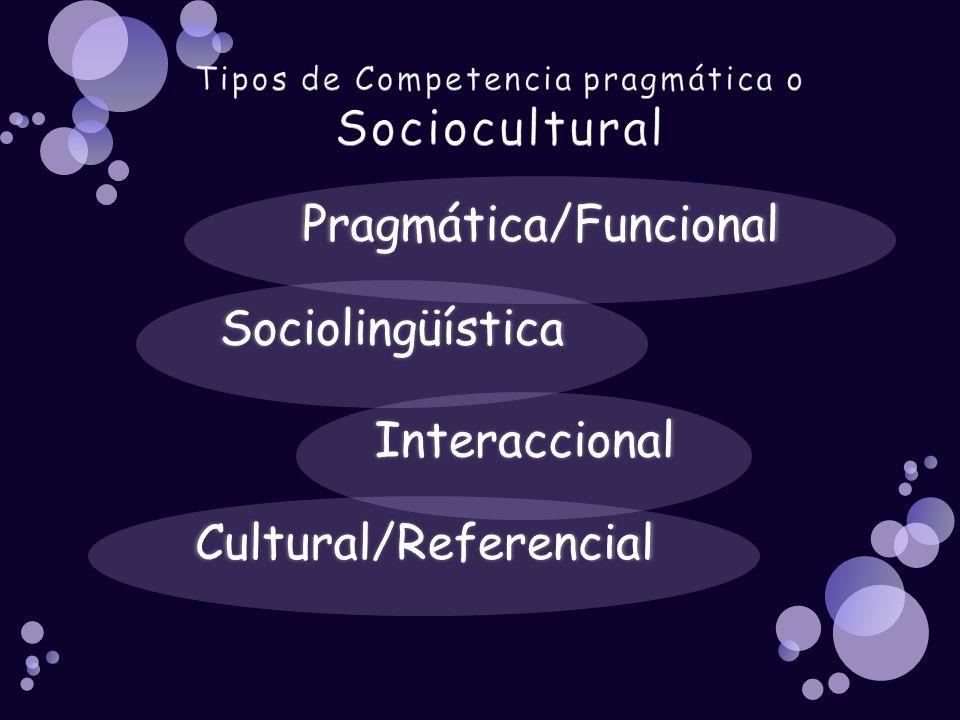 Cultural/Referencial