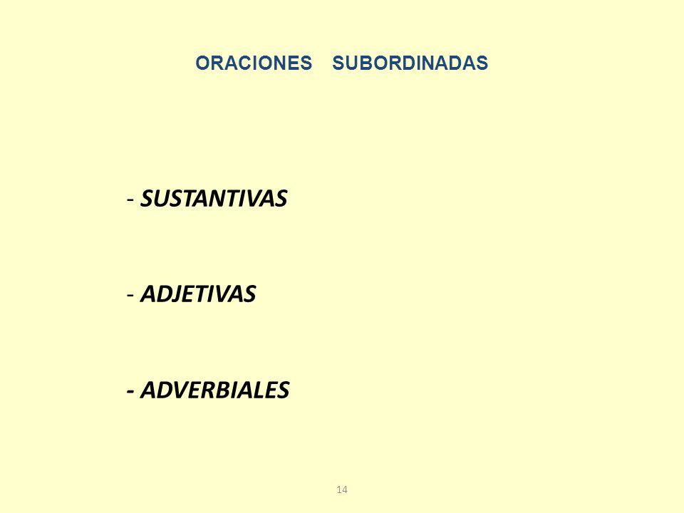 13 ORACIONES YUXTAPUESTAS Son aquellas oraciones compuestas cuyas proposiciones no están unidas por ningún nexo, sino, simplemente, porque están una junto a otra.