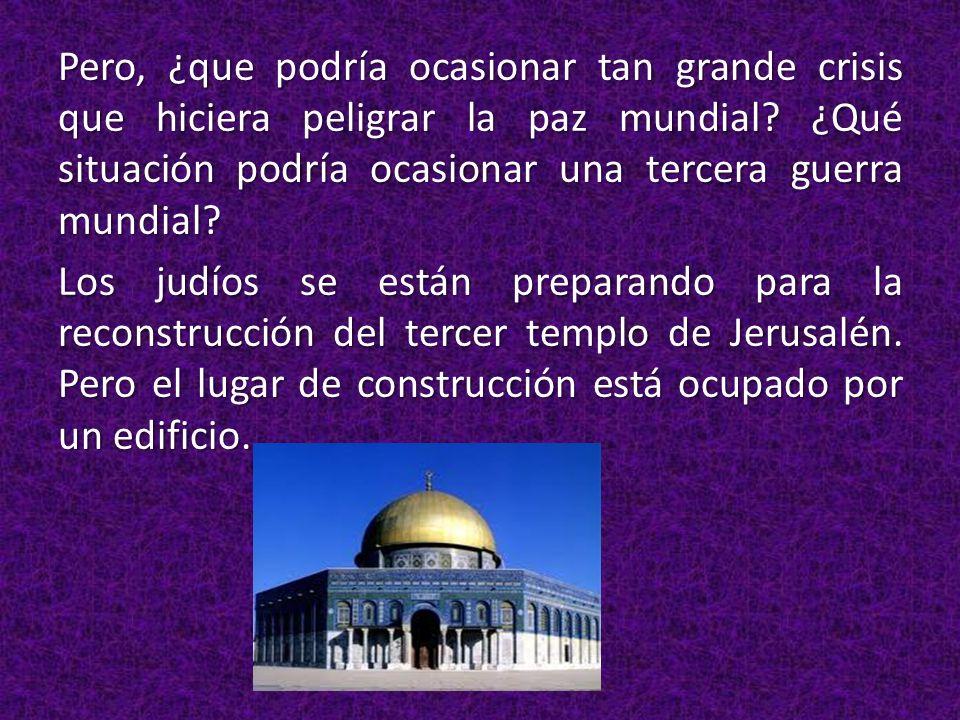 Es el lugar más sagrado para los musulmanes.