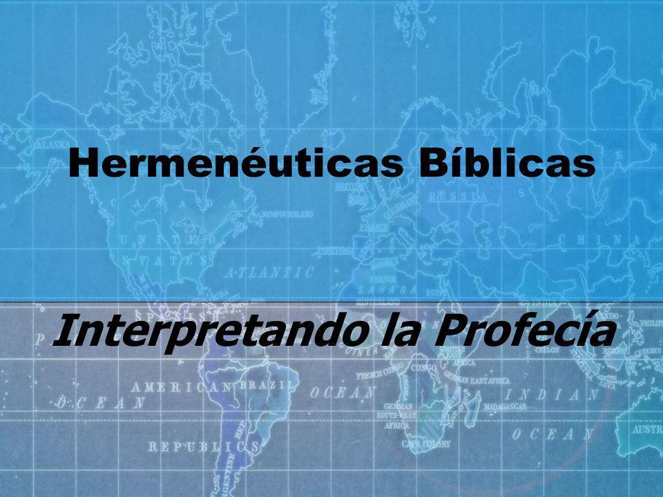 Principios generales 1.Entender su interpretación literal, gramatical e histórico – como se leería cualquiera parte de la Biblia 1 Tes.