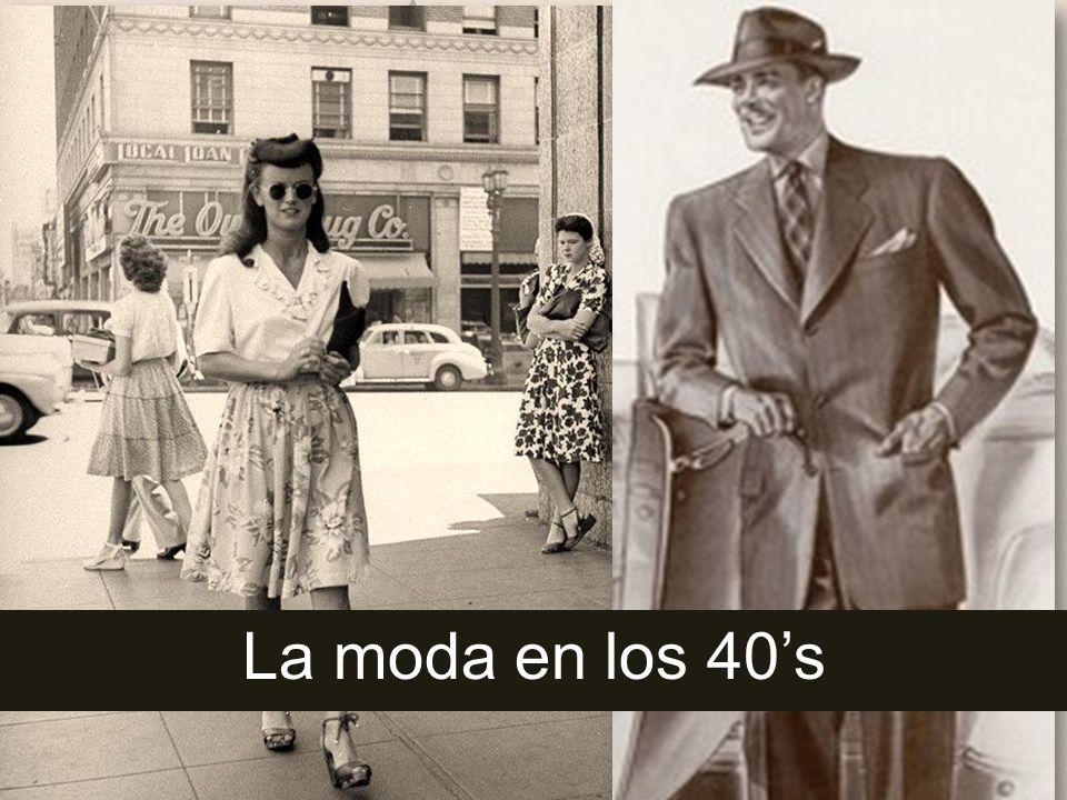 La moda en los 40s