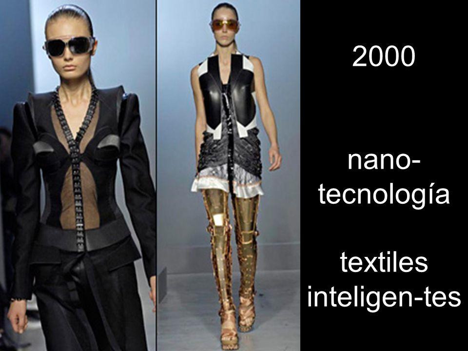 2000 nano- tecnología textiles inteligen-tes