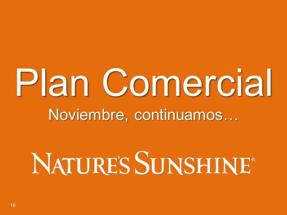 18 Plan Comercial Noviembre, continuamos…