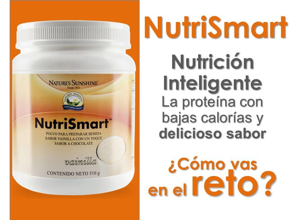 Nutrición Inteligente La proteína con bajas calorías y delicioso sabor ¿Cómo vas en el reto ? NutriSmart