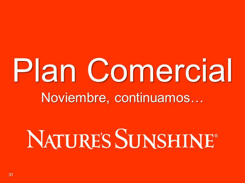 31 Plan Comercial Noviembre, continuamos…