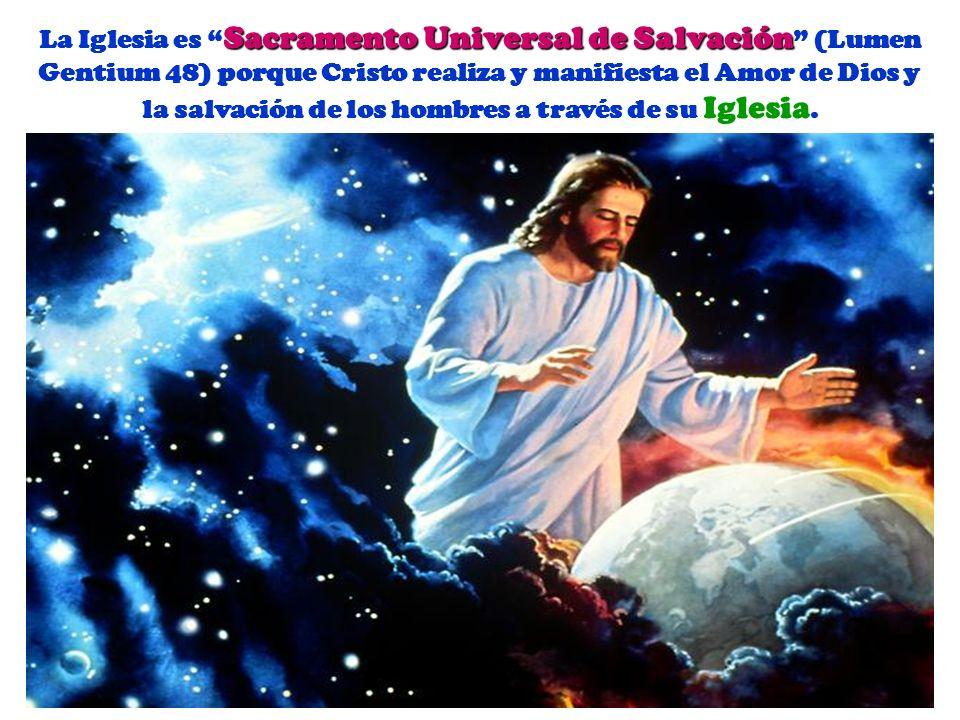 El Creador del Mundo y de todo el Género Humano decidió elevar a los hombres a la participación de la Vida Divina por medio de su hijo Jesucristo y la