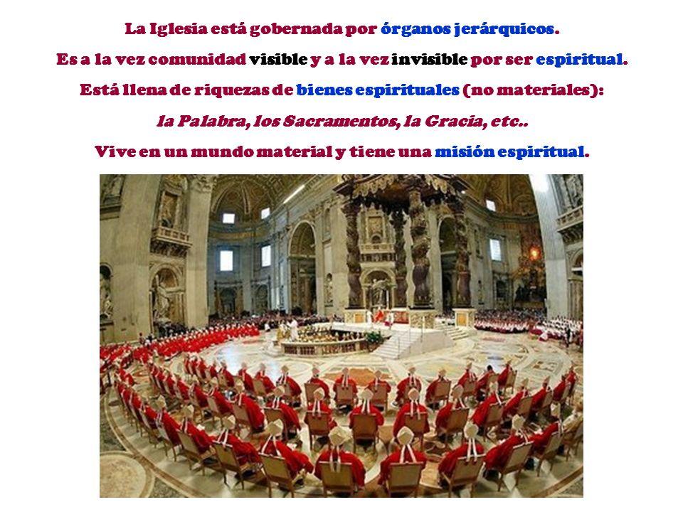 La Iglesia es peregrina, siempre caminando hacia la Gloria del Cielo, como Asamblea de todos los redimidos en la Tierra (Ap 14,4).. IGLESIA PEREGRINA