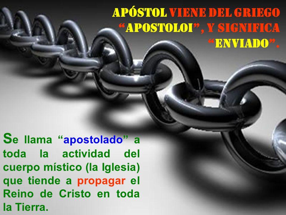 LA IGLESIA ES APOSTÓLICA Es Apostólica la Iglesia: 1) Porque está basada en el fundamento de Pedro y los demás Apóstoles (Ef 2, 20) 2) Porque guarda y