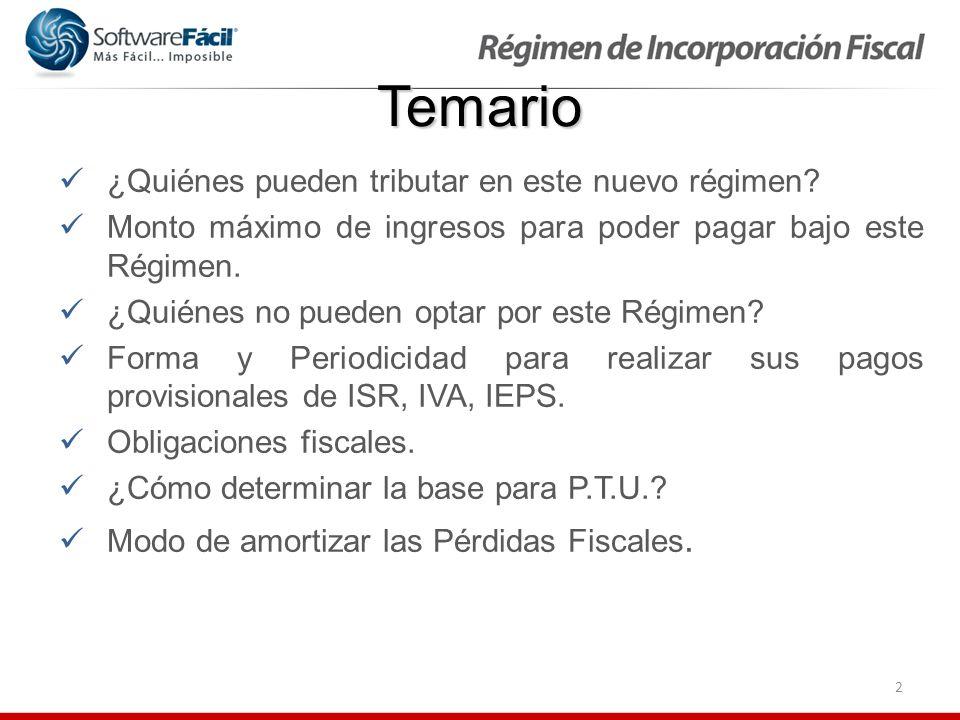 3 Temario Deducibilidad de los salarios pagados por los RIF.