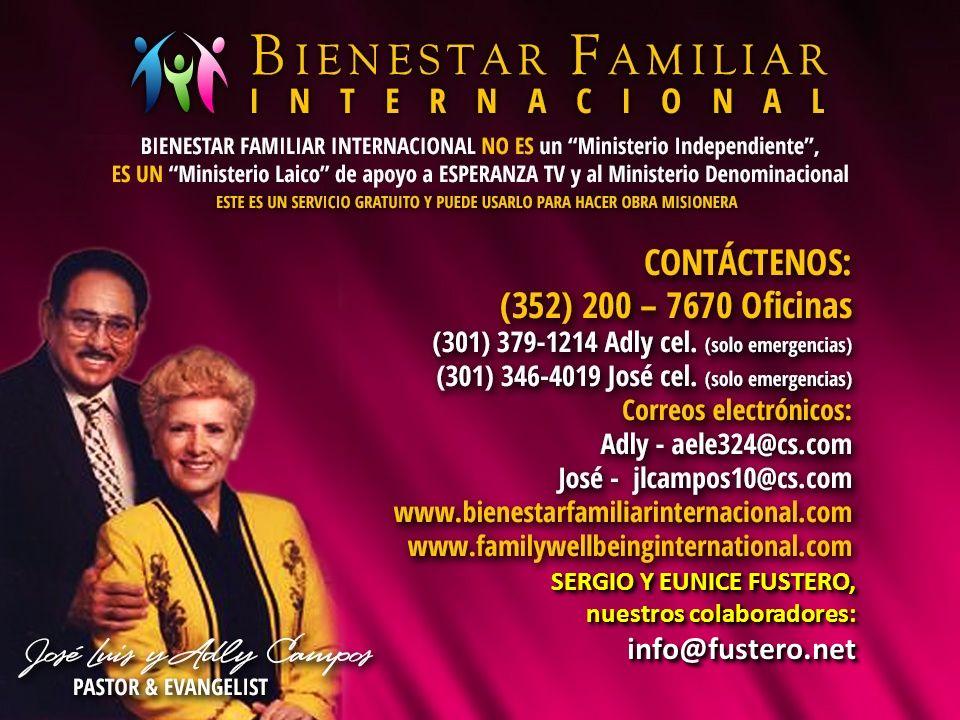 SERGIO Y EUNICE FUSTERO, nuestros colaboradores: info@fustero.net SERGIO Y EUNICE FUSTERO, nuestros colaboradores: info@fustero.net