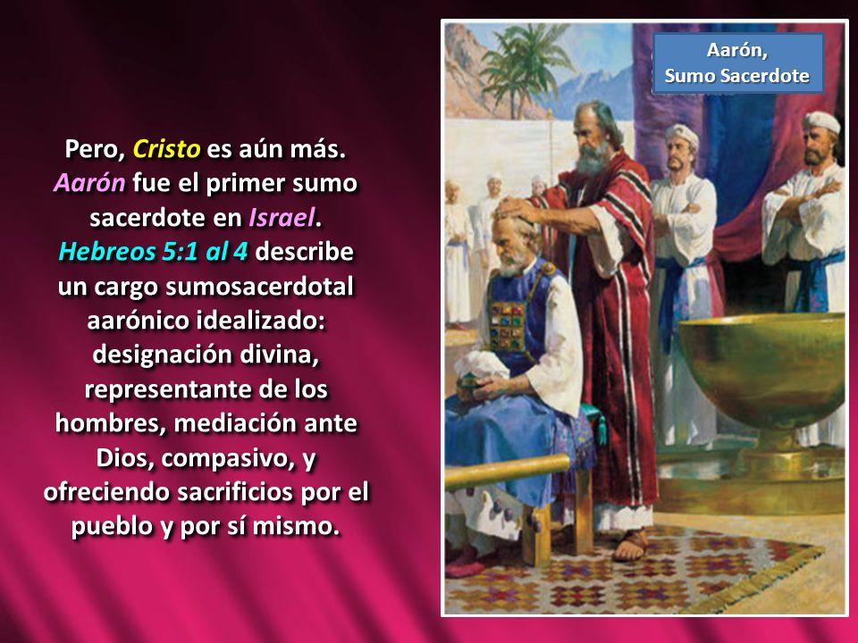 Hebreos describe a Cristo como el nuevo Sumo Sacerdote.