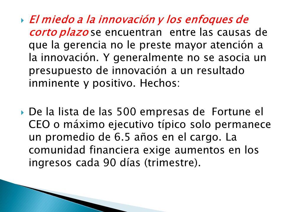 5.-La investigación no es un esfuerzo sino tres: mejoramiento, evolución dirigida e innovación.