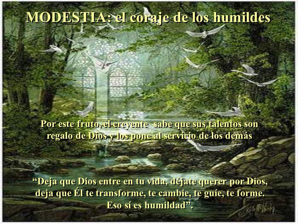 FE: mirar con los ojos de Dios FE: mirar con los ojos de Dios La fe fundamenta y dirige la obediencia, la confianza, el abandono. Déjate guiar por el