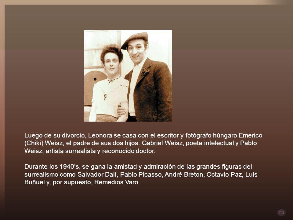 En 1942 Leonora Carrington y Renato Leduc llegan a México para divorciarse al año siguiente. Es entonces cuando conoce a Sir Edward James, mecenas de