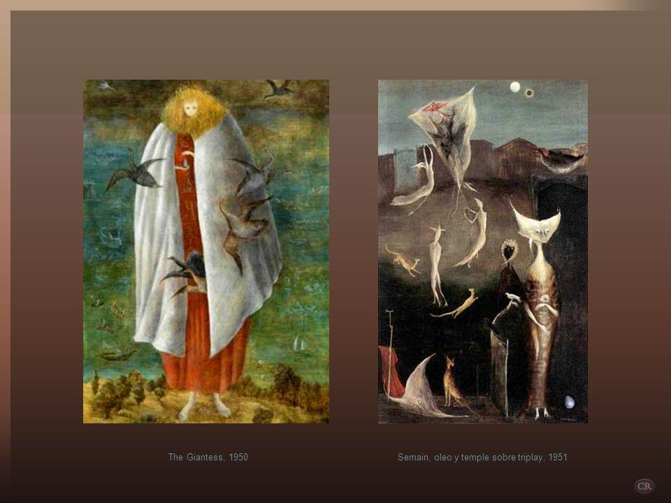 A pesar de estar catalogada como una de las mejores expositoras del arte surrealista, su acercamiento a esta corriente fue a través de vínculos amoros