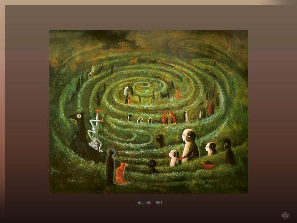 Durante los 43 años de permanencia en México forma parte del movimiento surrealista, compaginando la pintura (Plain Chant, 1947; Gato blanco, 1952; Ka