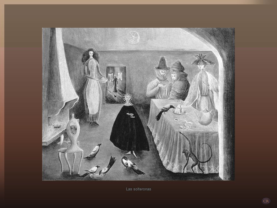Familiarizada con los mitos celtas, siempre presentes en sus cuadros y obras de teatro, Leonora les suma y les mezcla los mundos mágicos y fantásticos