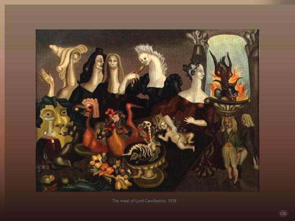 Leonora Carrington, con Max Ernst A sus escasos 19 años se apasiona por el pintor Max Ernst cuando ve su obra en la Exhibición Surrealista Internacion