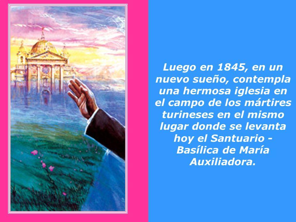 Desde los primeros años de su sacerdocio Don Bosco tenía el propósito de construir un templo en honor de María Santísima. El segundo domingo de octubr