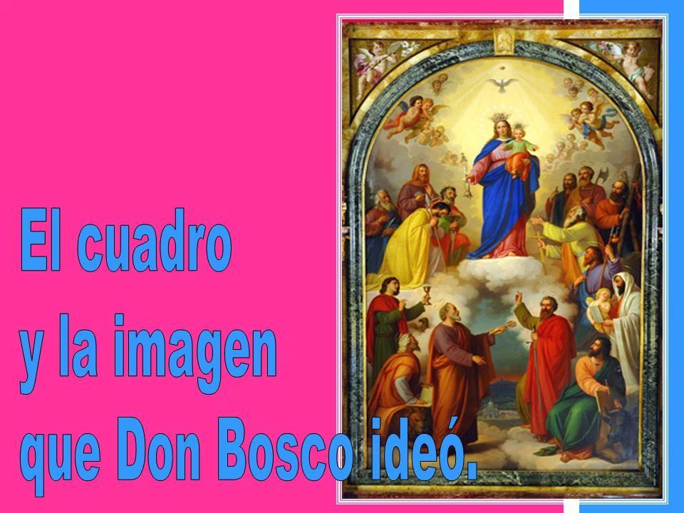 Lo que sorprendió a Don Bosco primero y luego al mundo entero fue que María Auxiliadora se había construido su propia casa, para irradiar desde allí s
