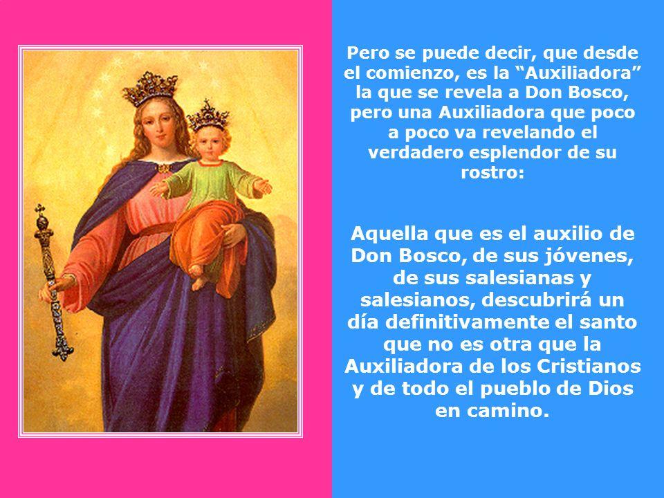 Lo que sorprendió a Don Bosco primero y luego al mundo entero fue que María Auxiliadora se había construido su propia casa, para irradiar desde allí su patrocinio.