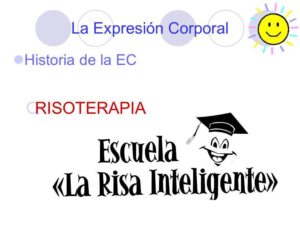 La Expresión Corporal Historia de la EC RISOTERAPIA