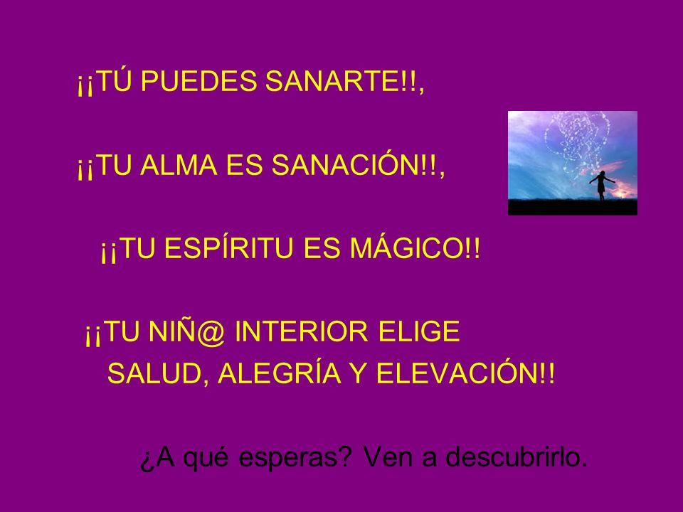 CENTRO URANIUM ¡¡TÚ PUEDES SANARTE!!, ¡¡TU ALMA ES SANACIÓN!!, ¡¡TU ESPÍRITU ES MÁGICO!! ¡¡TU NIÑ@ INTERIOR ELIGE SALUD, ALEGRÍA Y ELEVACIÓN!! ¿A qué