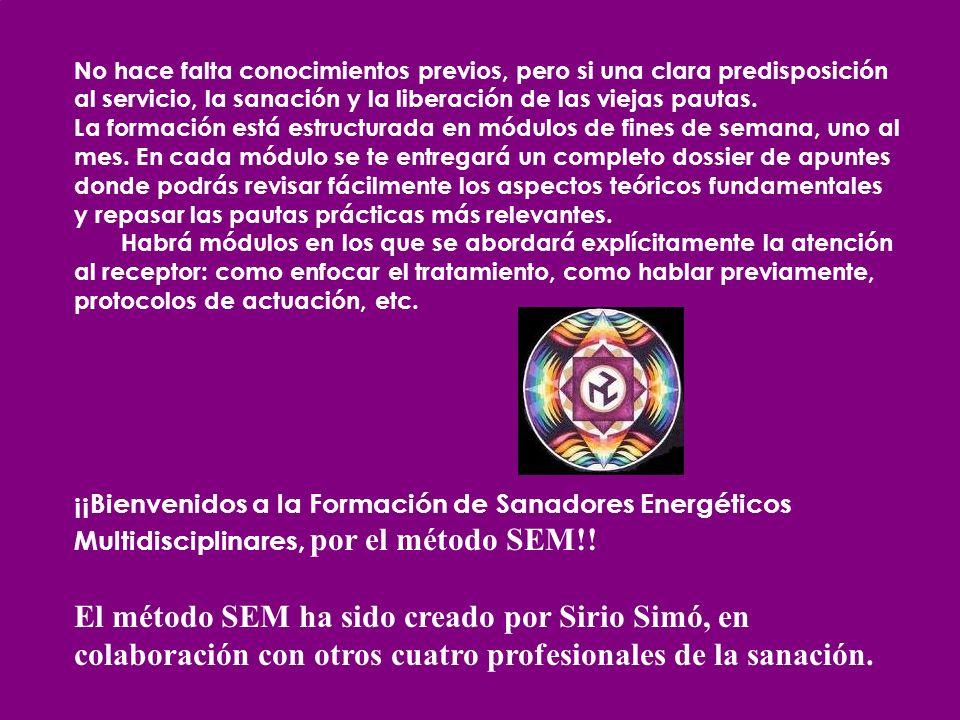 LOS 5 INSTRUCTORES SEM -Sirio Simó Calatayud Maestro Reiki, Profesor de Yoga, Terapeuta TEG, Masajista, Astrólogo, Tarotista.