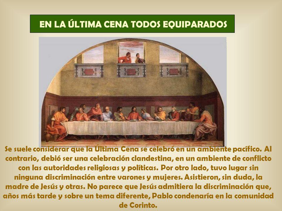 Todo el resto, el mundo de la jerarquía, el criterio dominio-servicio...: por una parte es cambiar la ley de Dios; es romper la paridad entre l@s hij@