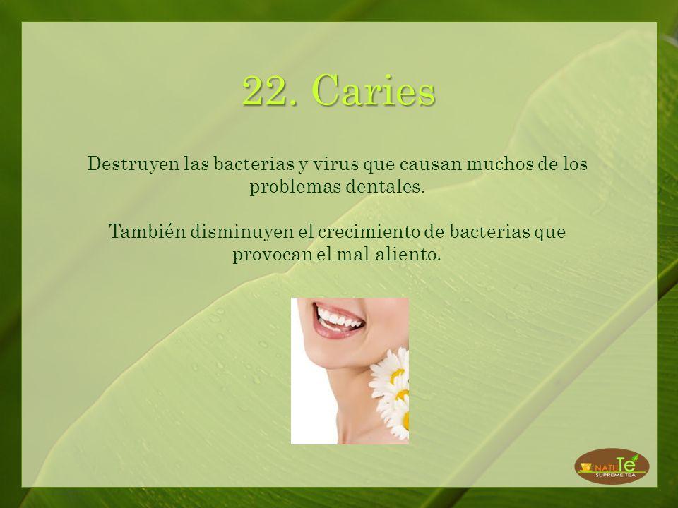 21. Herpes Incrementa la efectividad del tratamiento de interferon para el Herpes. Primero se aplica una compresa de té blanco o verde y luego se deja