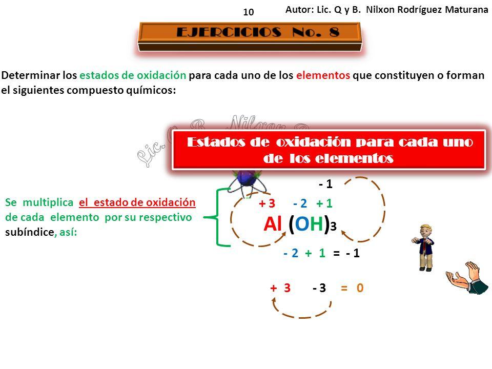 10 Autor: Lic. Q y B.