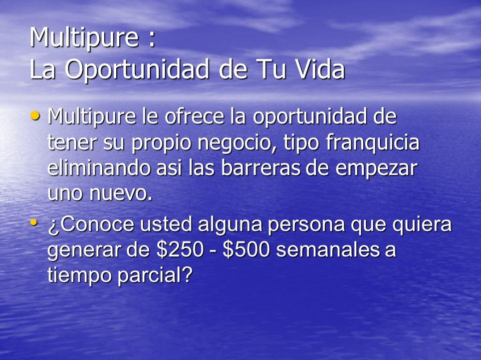 La Oportunidad de Tu Vida.., Por que …, Te D á.., Por que …, Te D á.., 1ro. La Oportunidad de ayudar a nuestro planeta y projimo para que no haya tant