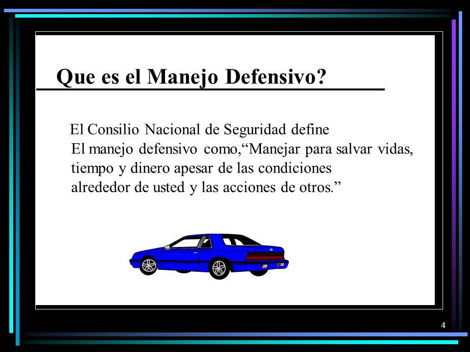 14 El Derecho de Via En las Intersecciones Hay momentos en que un conductor debe ceder el derecho de vía.