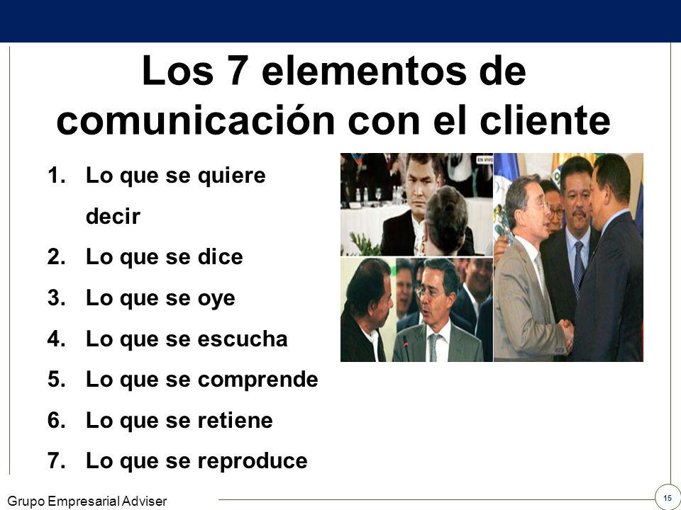 14 Grupo Empresarial Adviser Cómo se comunica Quiero Leche