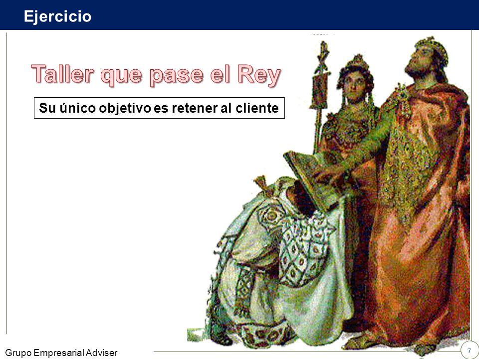 37 Grupo Empresarial Adviser ESTRUCTURADA FORMALADULTA SEMIESTRUCTURADA SEMIFORMALJUVENIL DESESTRUCTURADA INFORMALINFANTIL EL ANÁLISIS DE LA SEMIOLOGÍA DE LOS SUJETOS PERMITE CONOCER SU ESTRUCTURACIÓN ESTO AFECTA LA VISIÓN DEL MUNDO Y LA TOMA DE DECISIONES Pensamiento ActuaciónComportamiento Existen múltiples relaciones entre sí, con roles de base y roles situacionales MEZCLA TRANSACCIONAL Un crimen perfecto Video