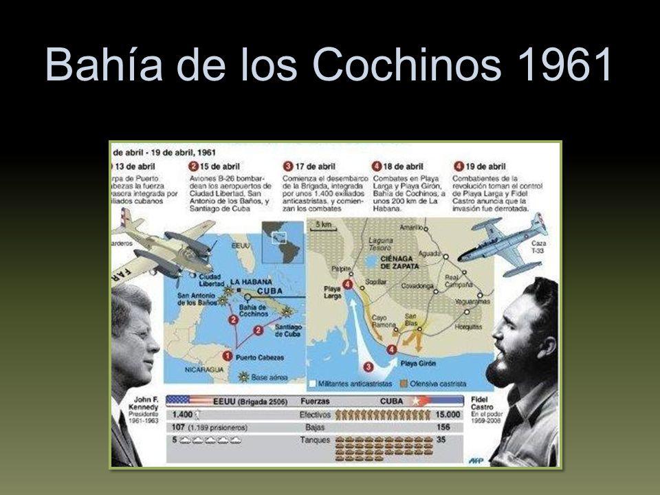 Bahía de los Cochinos 1961