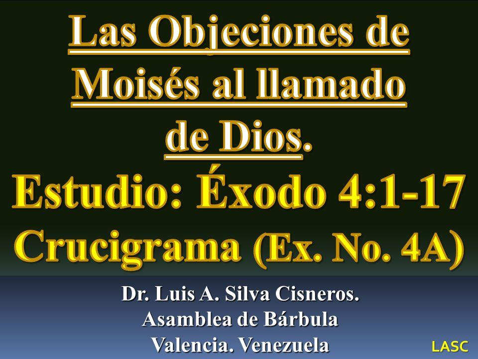 Las objeciones de Moisés al llamado Divino 1 Entonces Moisés respondió diciendo: He aquí que ellos no me creerán, ni oirán mi voz; porque dirán: No te ha aparecido Jehová.